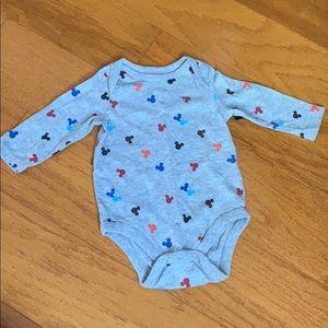 Gap Disney Mickey onesie 3-6 months